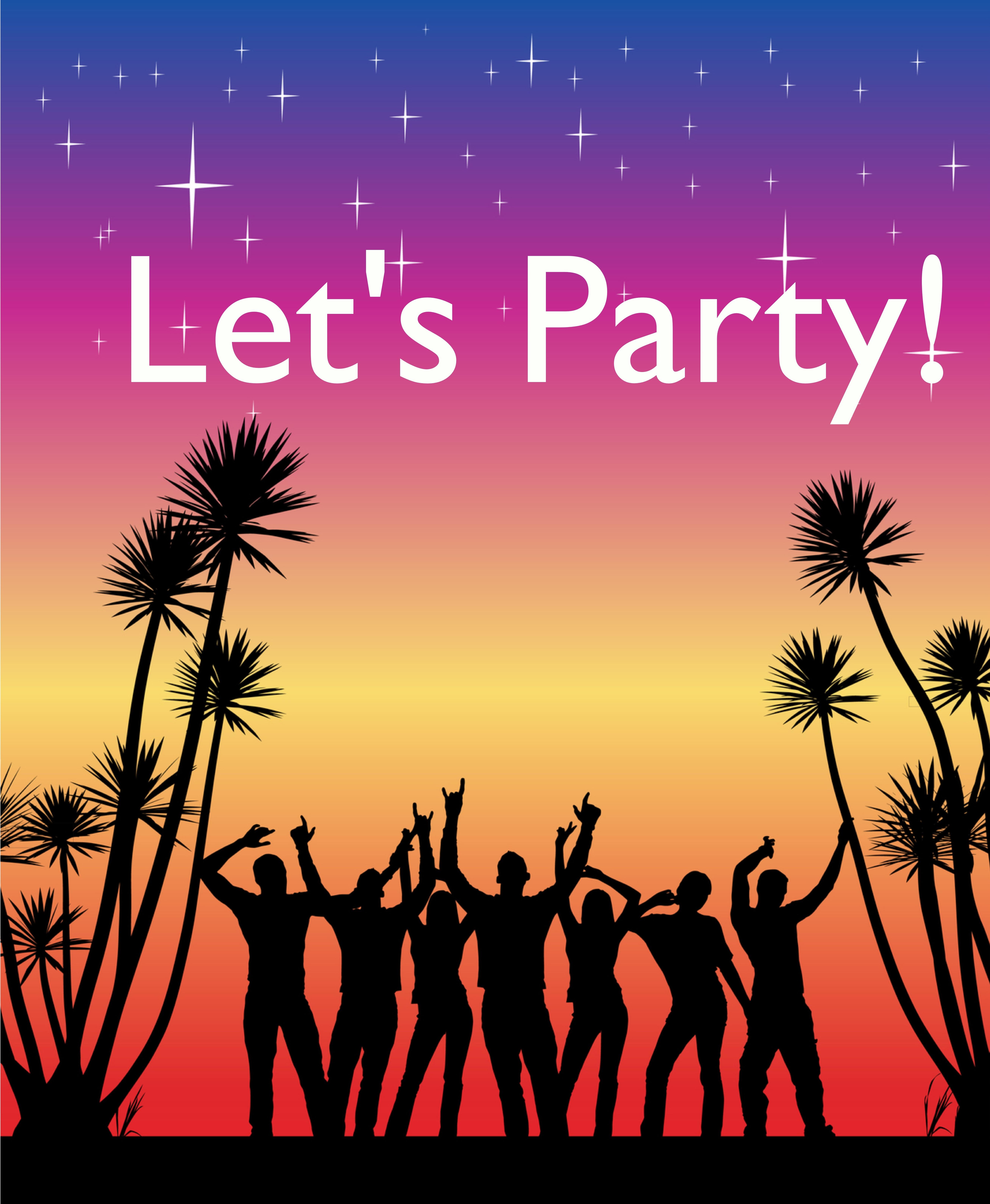 a party lets: