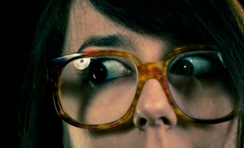 Funny geek glasses