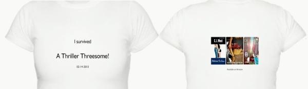 Thriller Threesome shirt