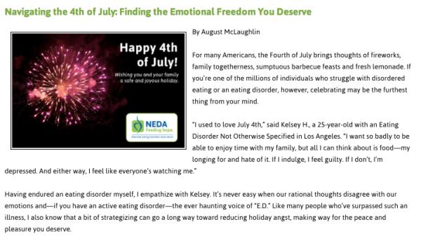 NEDA July 4