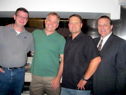 Left to Right: Todd Gerber, John Dixon, Kyle Steele and Peter Aragno