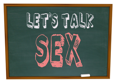 Let's Talk Sex - Chalkboard