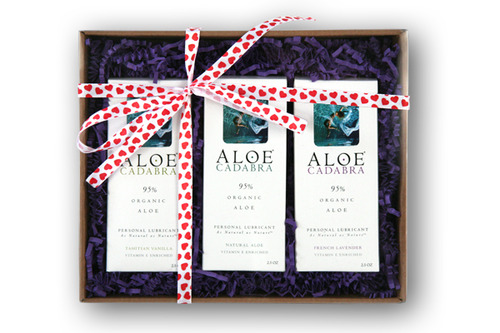 Aloe Cadabra Valentine's gift box