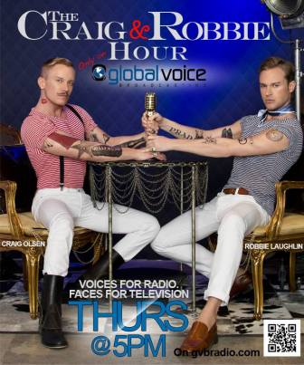 Craig Olsen Robbie Laughlin radio Global Voice