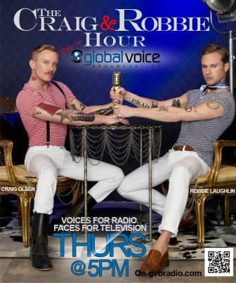 Craig Olsen Robbie Laughlin radio Global Voice