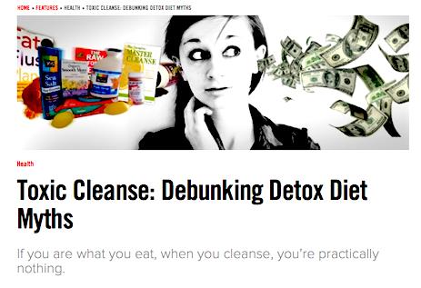 detox diet article