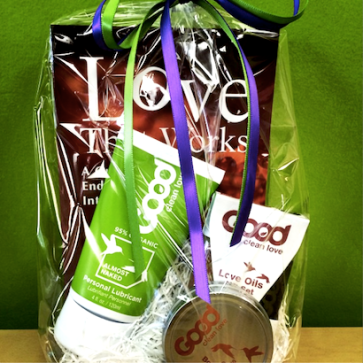 Special thanks to Good Clean Love for donating these wonderful prizes!
