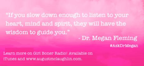 Dr. Megan quote GB 5-26