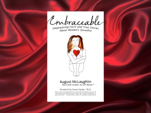 Embraceable book cover red
